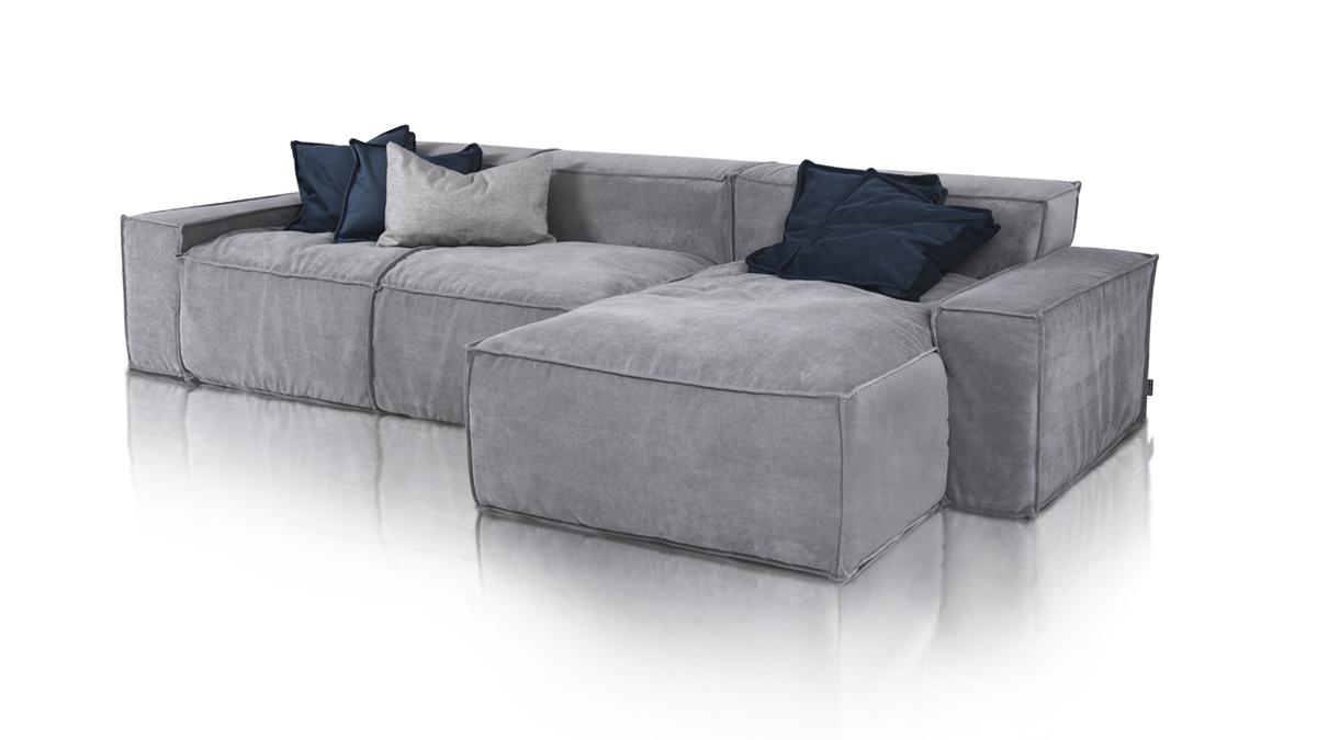 Sofa modułowa Cushions od Inspirium