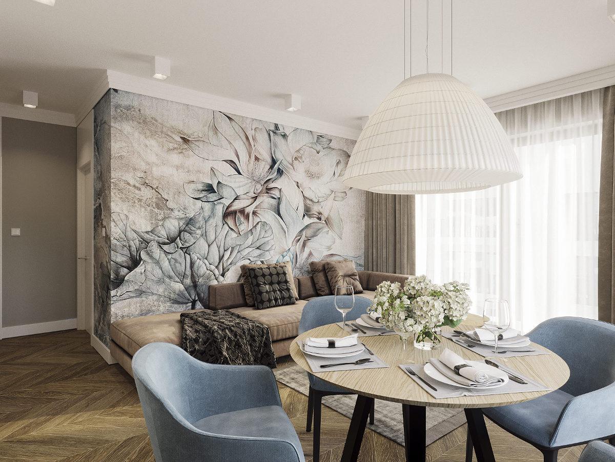 Motyw Design - przepiękny projekt salonu