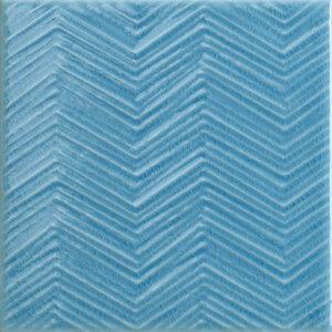 Płytki Tonalite, kolekcja Tissue Turchese 15×15