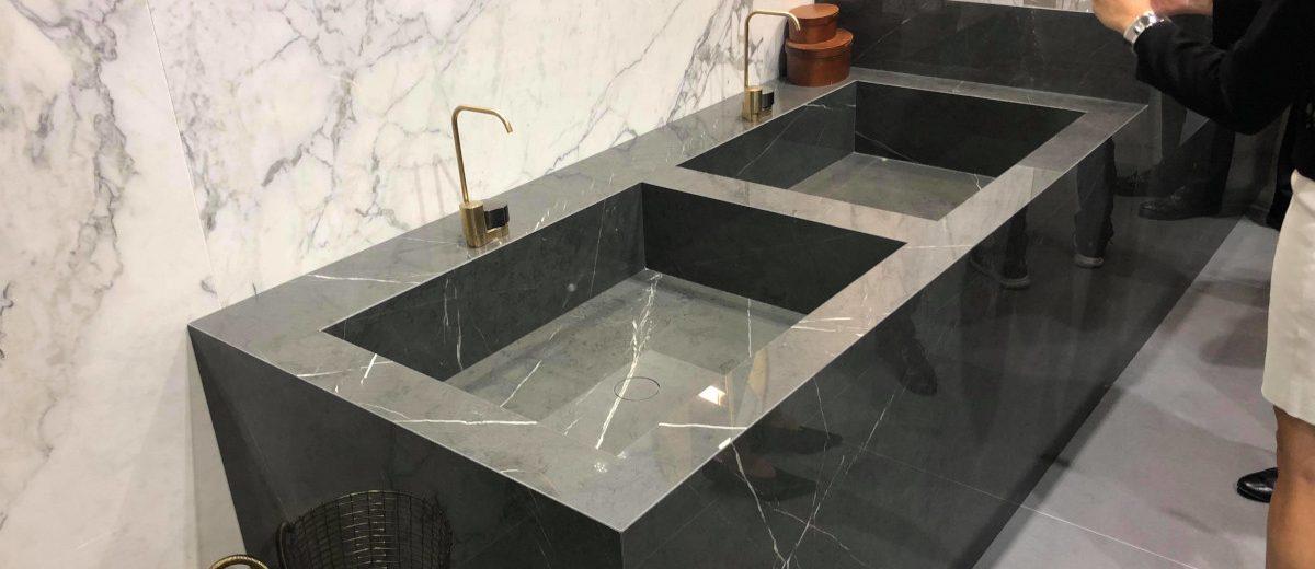 Umywalki z płytek - propozycja marki Marazzi