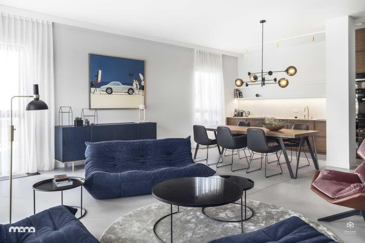 Kultowa sofka TOGO w projekcie Mana Design