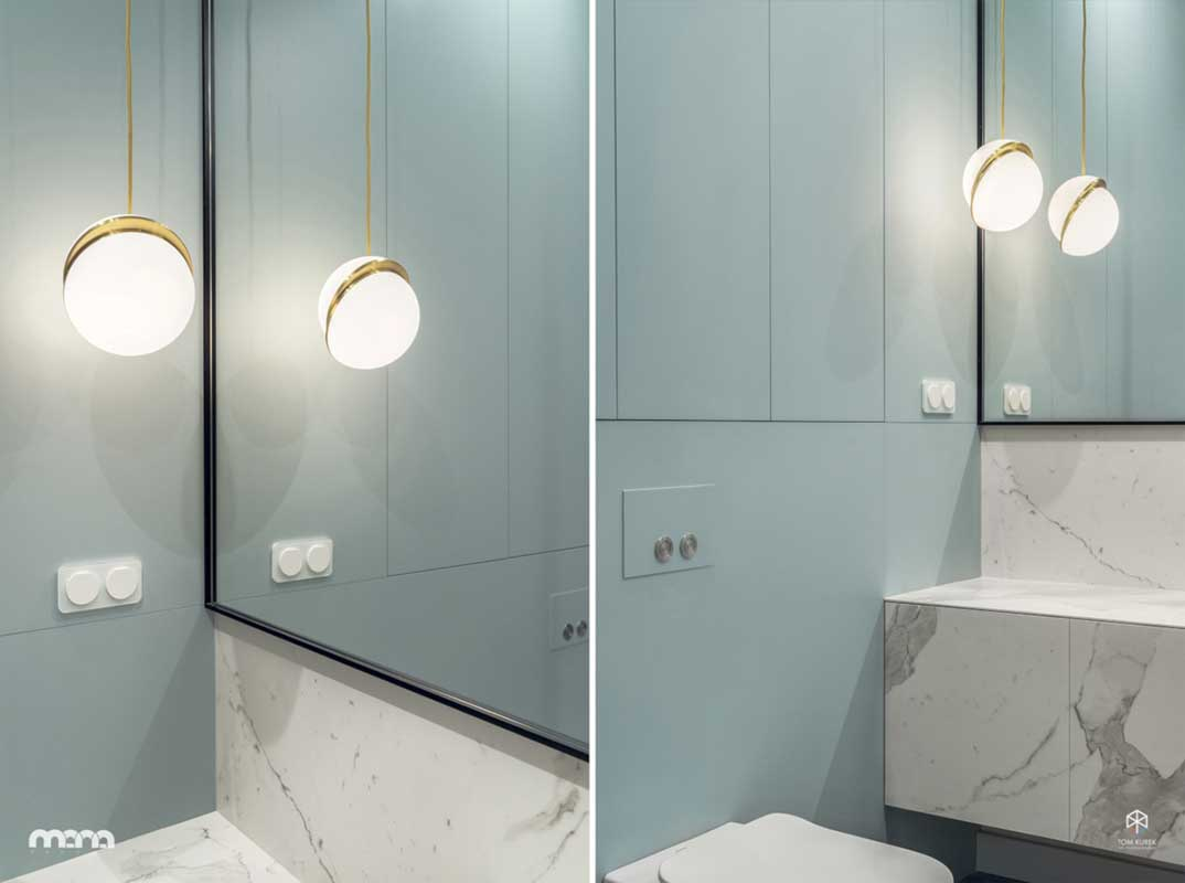 Pomysł na łazienkę | proj. Mana Design