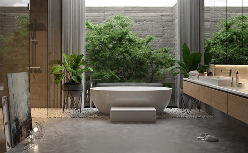 Aranżacja łazienki W Stylu Organicznym Jak Wprowadzić