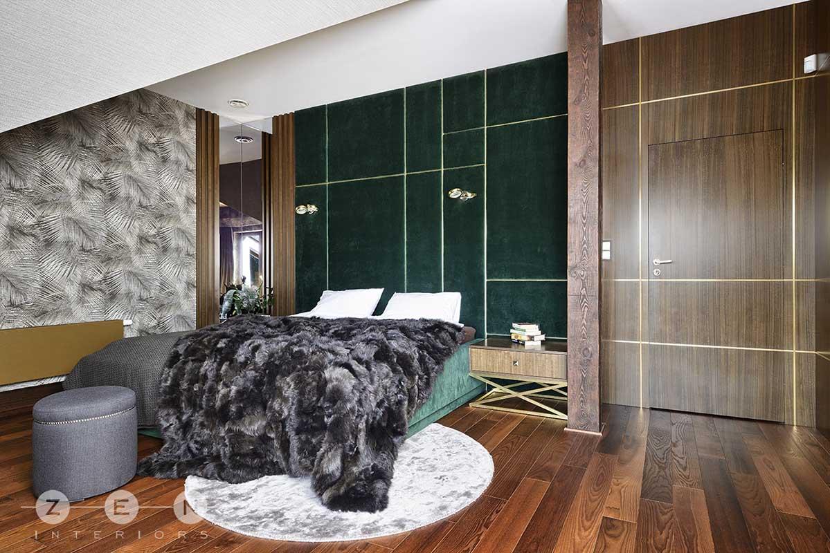 Przytulna sypialnia | proj. ZEN Interiors