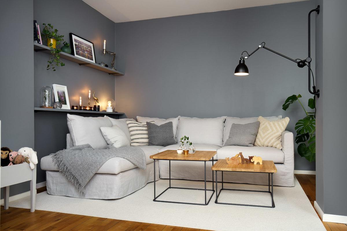 Przytulny dom z narożnikiem Bianca marki Sits (produkt dostępny w naszych showroomach: Internity Home i Prodesigne)