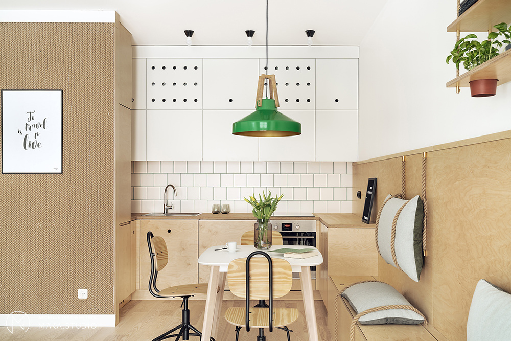 Kuchnia niskobudżetowa | proj. maka.studio, zdj.: Tom Kurek