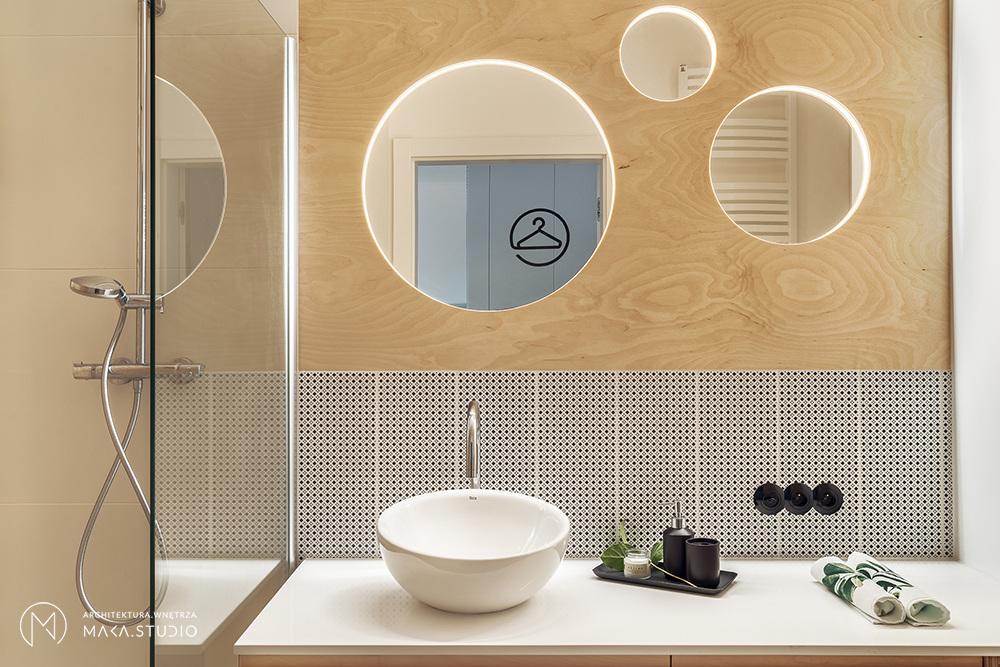 Łazienka | proj. maka.studio, zdj.: Tom Kurek