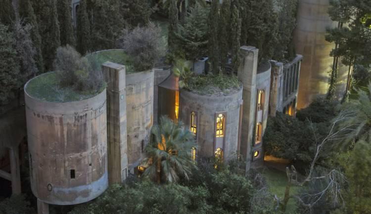 Cementownia przerobiona na luksusowe mieszkanie