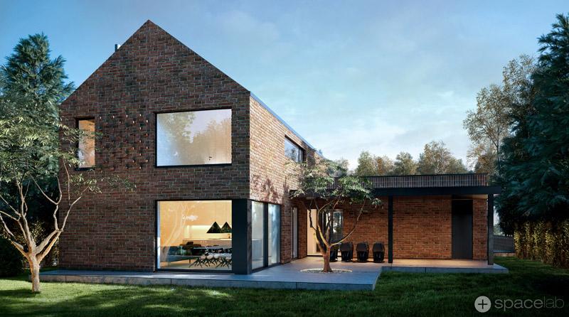 Jednorodzinny dom | Projekt Spacelab