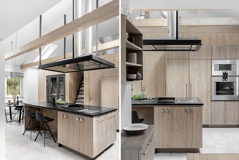 Drewniana kuchnia | proj. OIKOI