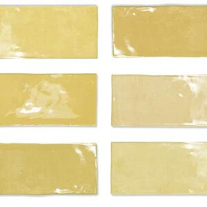 Płytki Wow Design kolekcja Fez seria Mustard Gloss