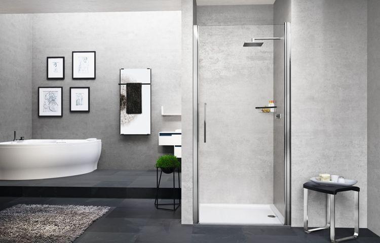 Drzwi prysznicowe Novelini