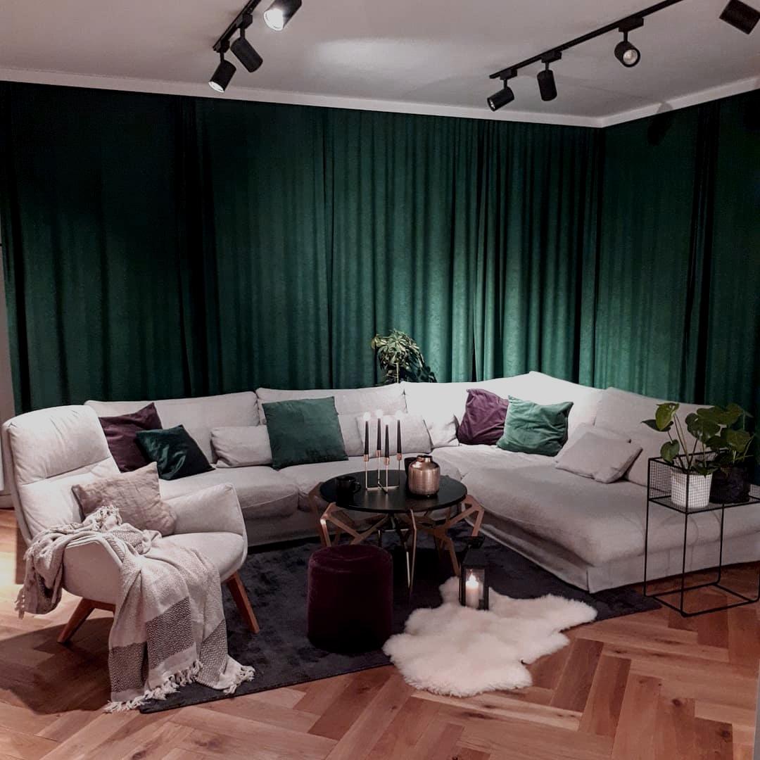 Salon według ann.living | źródło @ann.living
