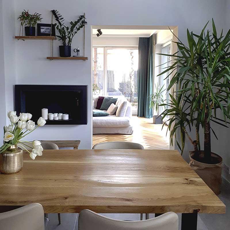 Rośliny w domu ann.living | źródło @ann.living