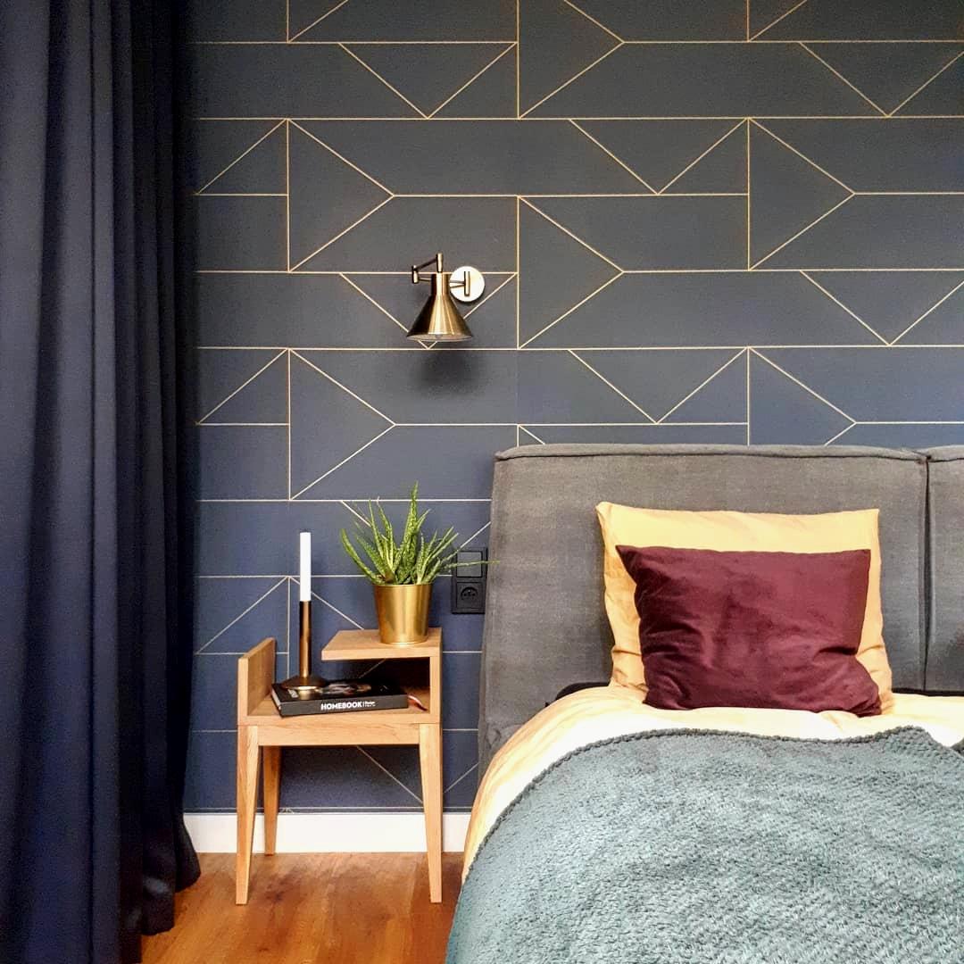 W sypialni wykorzystaj tekstylia o różnorodnej fakturze | źródło @ann.living
