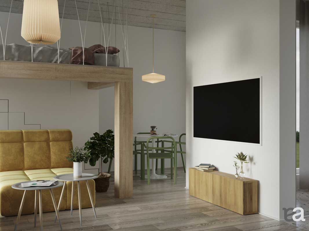 Małe mieszkanie | proj. Nica Design