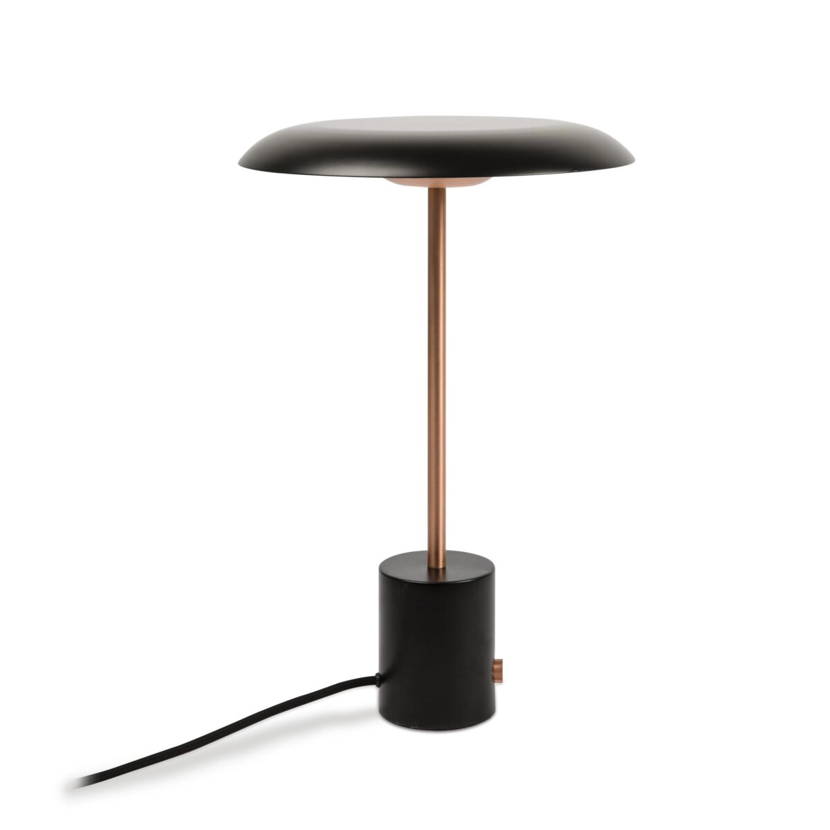 HOSHI LED Black and brushed copper
