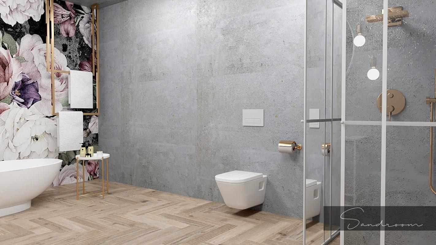 Projekt łazienki Sandroom