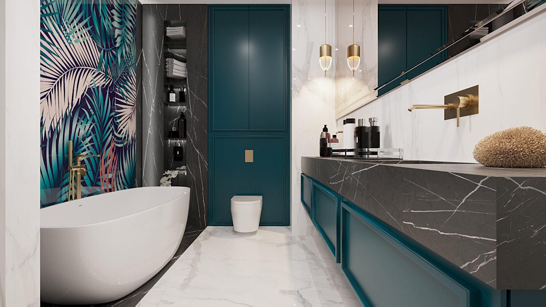 ZEN Interiors Polska kolory w łazience