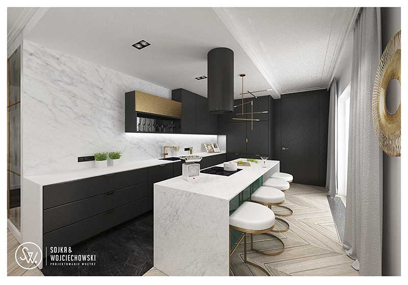 Projekt kuchni Sojka & Wojciechowski