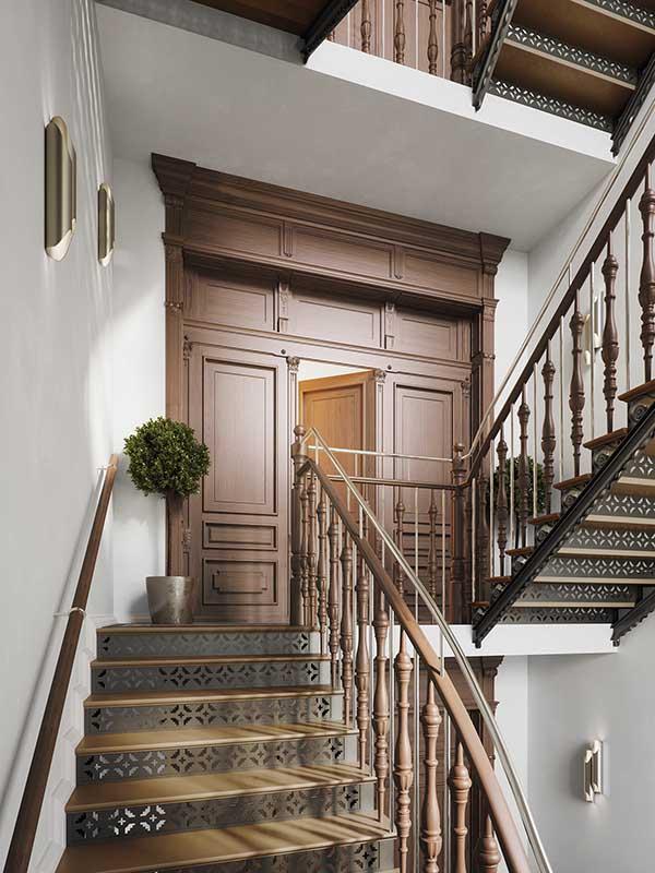 Apartamenty Matejki 3_oryginalna stolarka drzwiowa