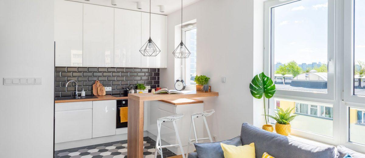 Mieszkanie 45 m2 | proj. WZ Studio (fot. Artur Jarosz/Trzykropy)