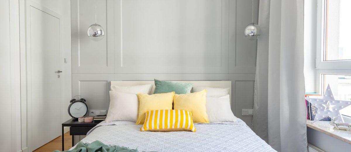 Pomysł na sypialnię | proj. WZ Studio (fot. Artur Jarosz/Trzykropy)