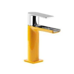 Tres Loft-Tres bateria umywalkowa stojąca kaskada korek automatyczny chrom