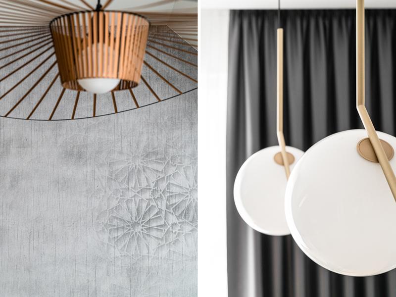 Designerskie lampy w projekcie Studio Projekt
