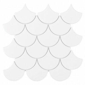 Płytki Dunin kolekcja MINI FISH SCALE WHITE 88