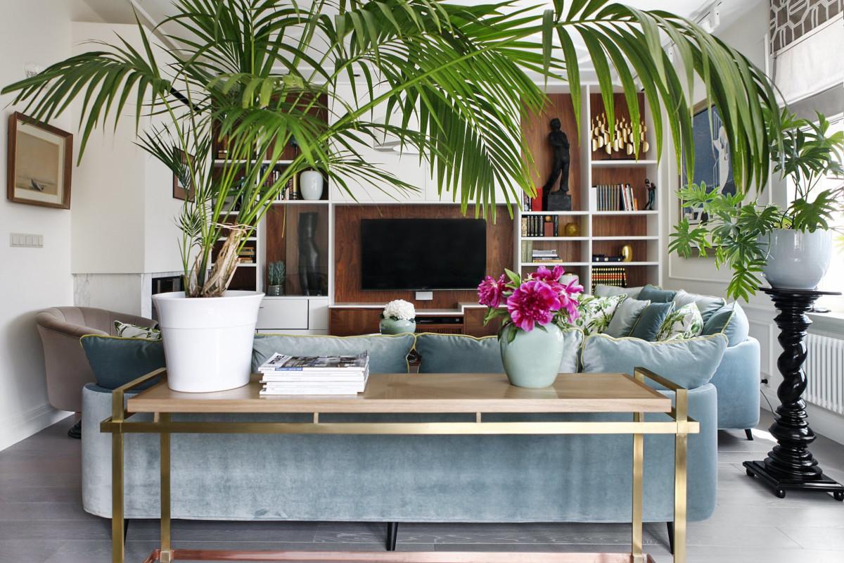 Wprowadź żywy akcent do wnętrza | proj. Sikorska & Architekci