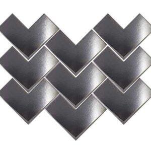 Płytki Wow Design kolekcja Boho seria Elle Steel