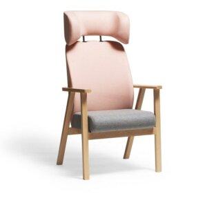 Fotel wypoczynkowy Ton z zagłówkiem 02