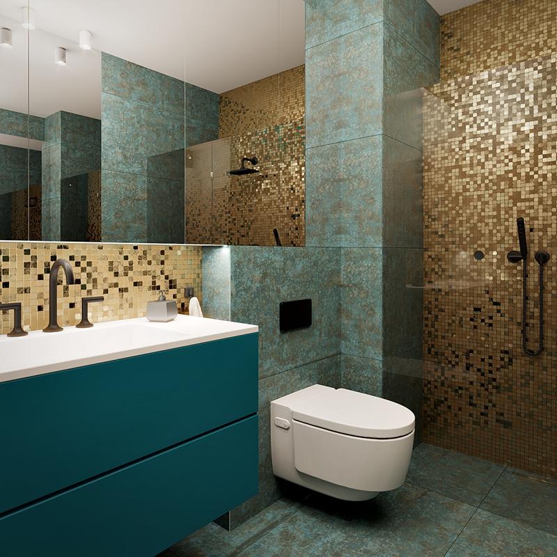 Projekt łazienki pracownia Styl Wnętrza