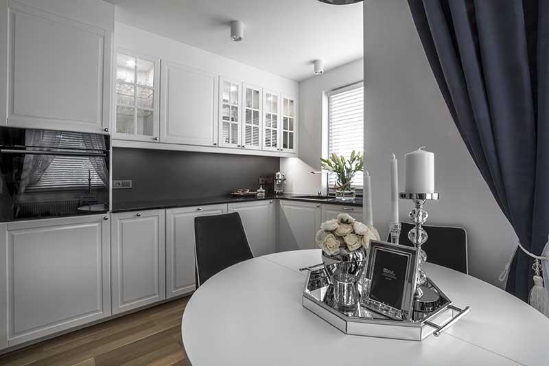 Styl nowojorski – mieszkanie projektantki | Proj. M-Projekty