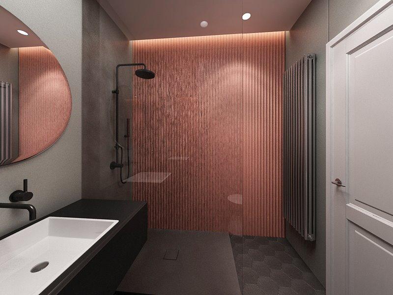 Nietuzinkowy projekt łazienki (proj. Anna Koszela)