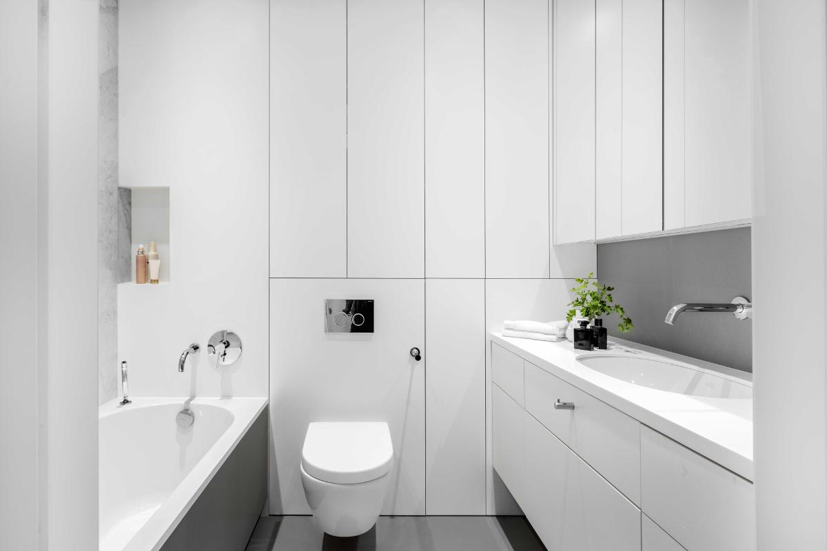 Najlepsze projekty łazienek (proj Black Deer Workshop przy współpracy z Karoliną Zakrzewską z Kint Studio)