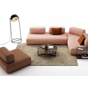 Sofa modułowa Nicoline kolekcja Bresso