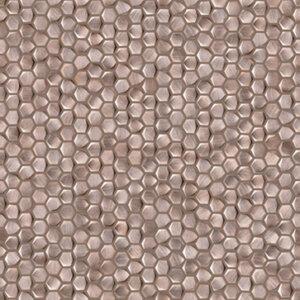 Płytki Porcelanosa GRAVITY ALUMINIUM HEXAGON ROSE GOLD 30,7X30,7
