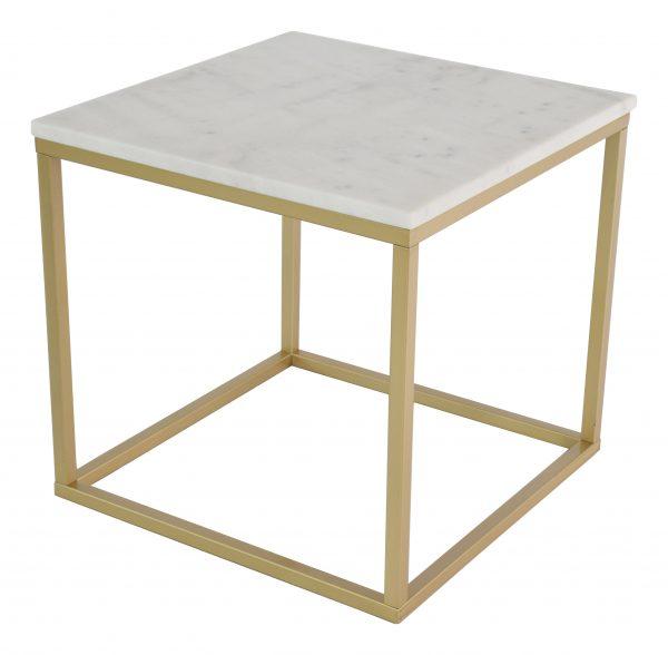 stolik z marmurowym blatem