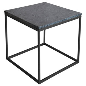 Stolik z marmurowym blatem RGE Accent 50x50x53