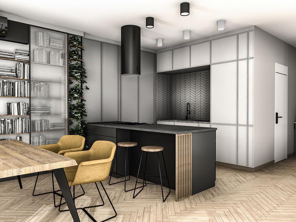 Peka Studio projekt apartamentu