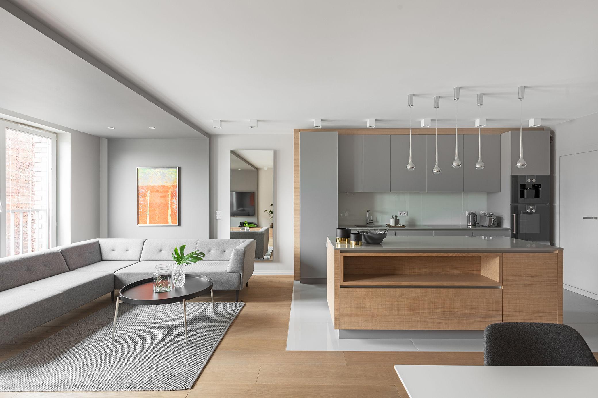 Minimalistyczny apartament w Krakowie 2016   proj. Finchstudio Architektura Wnętrz