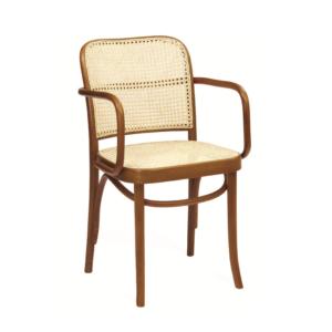 Fotel drewniany Paged B-8110