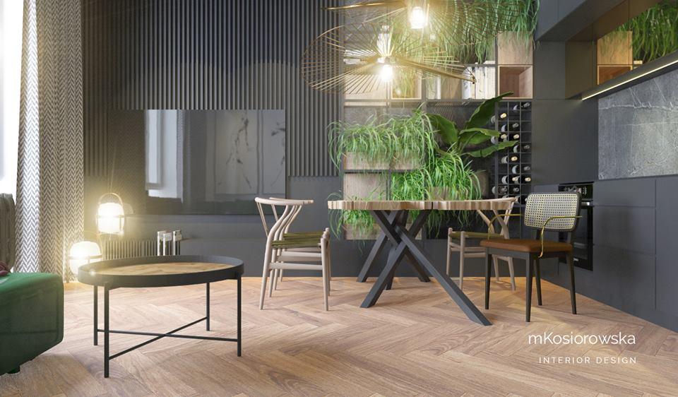 Projekt mieszkania architekt MKosiorowska