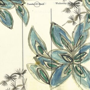 Tapeta A FLEUR DE PEAU (Contemporary 2019) Wall & Deco