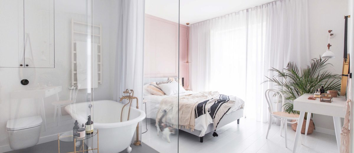 Pomysł na sypialnię | proj. Dash Interiors
