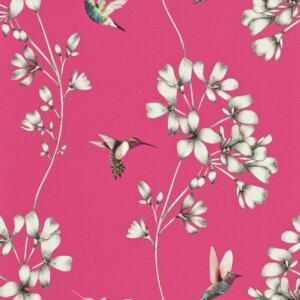 Tapeta Harlequin kolekcja Amazilia (Flamingo)