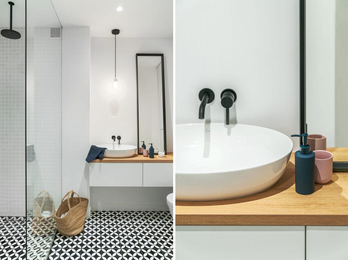 Kobieca łazienka | proj. luumo.