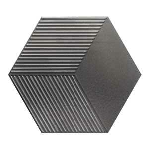 Płytki Wow Design kolekcja Metallic Edition seria MINI HEXA CANALE METALLIC